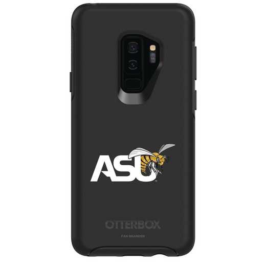 GAL-S9P-BK-SYM-ASU-D101: FB Alabama St OB SYMMETRY Case for Galaxy S9+